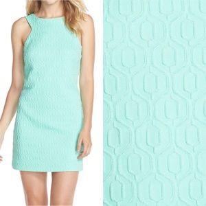 Lilly Pulitzer Textured Metallic Shimmer Dress SzL